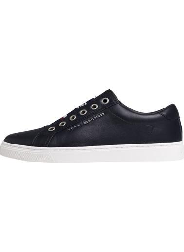 Tommy Hilfiger Kadın Elastıc Cıty Sne Sneakers FW0FW04019 Renkli
